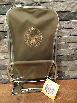 Everest Scout Pak Vtg Boy Scout Backpack Lever Lift NOS With Tags 60's 70's Rare
