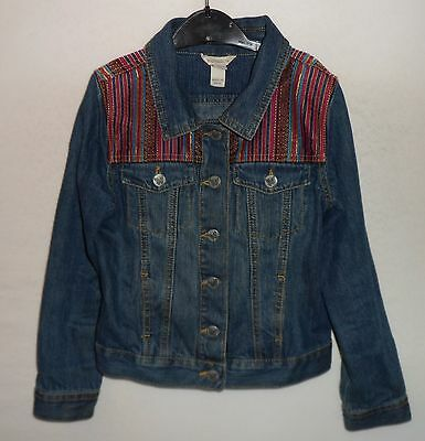MONSOON denim jacket 8 - 10 years 140 cm