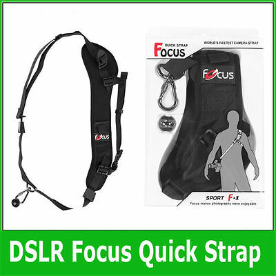 Focus F-1 Anti-Slip Quick Rapid Shoulder Sling Belt Neck Strap UK Seller