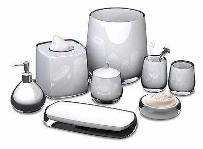 NuSteel Roly Poly 5-Piece Bathroom Accessories Set