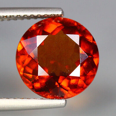 "4.93 Cts_World Class Marvelous Stone_100 % Natural "" Unheated "" Hessonite Garnet"