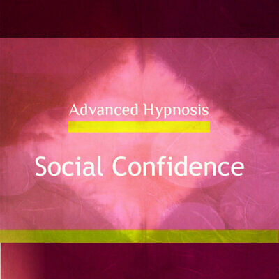 Social Confidence Hypnosis, Feel confident in social situations Hypnotherapy CD