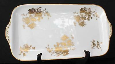 "Vintage HAMMERSLEY England Bone China GOLDEN CHRYSANTHEMUM 13"" Sandwich Tray"
