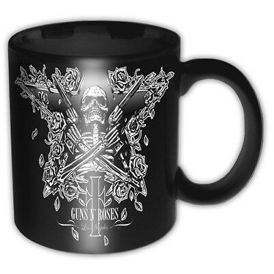 Guns N Roses Skeleton Star Black Boxed Gift Premium Coffee Mug Cup Fan Official