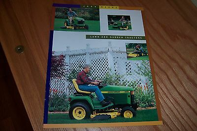 JOHN DEERE GT and GX Series LAWN  and GARDEN TRACTORS  LITERATURE