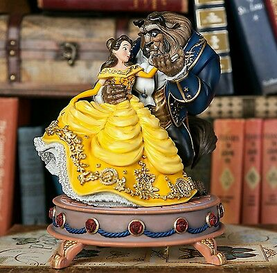 Disney Store Beauty and the Beast Limited Edition Musical  Collectors Figurine