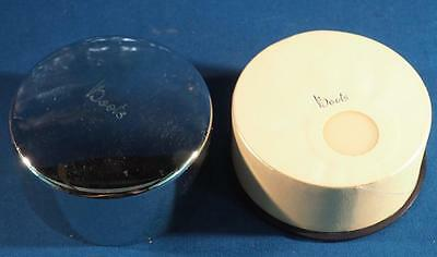Vintage Boots No. 7 Face Powder w/ Canister Packaging Advertising NOS