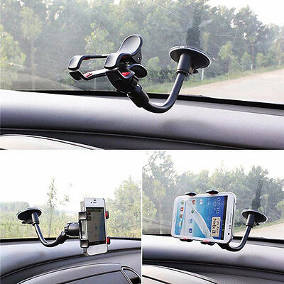 360°Mount Car Holder Universal Windshield Cradle For iPhone 6 Plus 5 5S Samsung