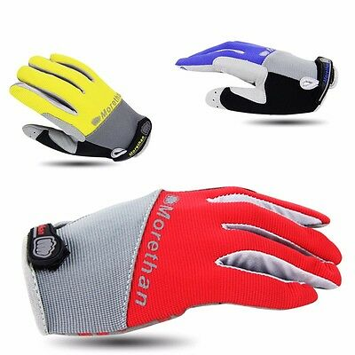 Cycling Full Finger Gloves Mitts Racing Mountain Bike Bicycle Motocross