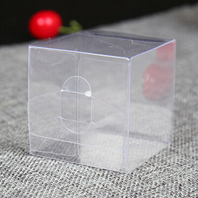 PVC Plastic Clear Packaging Boxes For Gifts Favors Candy Chocolate Pack