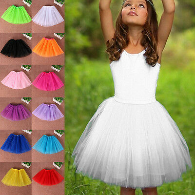 Girl's Toddler Kids Ballet Princess Dress Up for Dance Wear Costume Party Skirt