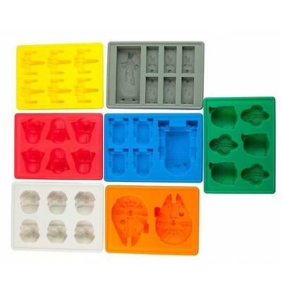 Star Wars Silicone Ice Tray Mold Ice Cube Tray Chocolate Fondant Pudding DIY  DA