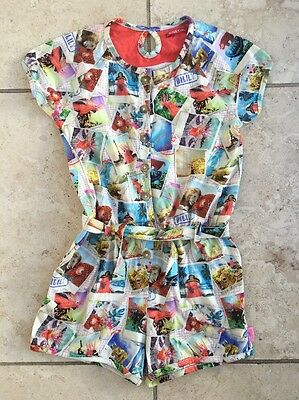 Oilily Polaroid Playsuit Age 4 Years Immaculate Girls Designer Clothes