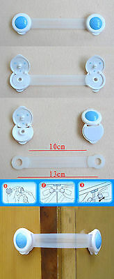Toddler Baby Kids Child Drawer Cabinet Cupboard Door Fridge Safety Locks