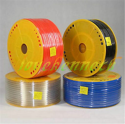PU Pneumatic Tube Pipe Hose Tubing Different Sizes And Colors 5m 10m 25m long