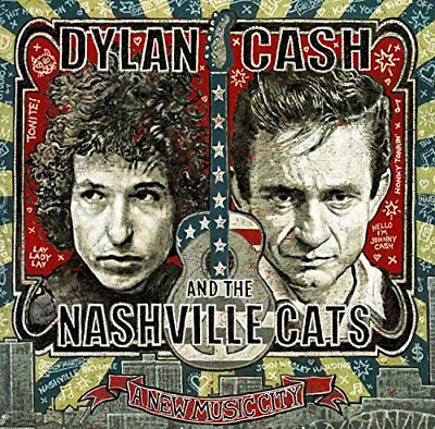 Dylan Cash And The Nashville Cats A New Music City [CD] Sent Sameday*