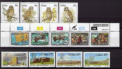9253076 Fine Used / Cancelled 1 Lovely South Africa Ciskei Block6 complete Issue
