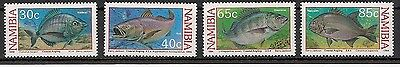 Namibia 1994 Fish set of 4