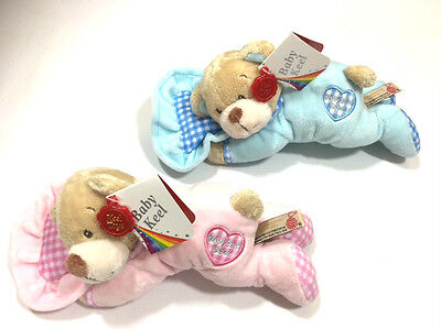 Baby Babies Childrens Kids Toy Doll Teddy Pillow Bear Soft Plush Small Blue Pink