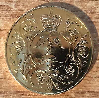 1977 Silver Jubillee Gold Plated Crown