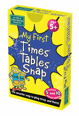 My First Times Tables Snap + Pairs Card Game BrainBox - Maths Learning Resource