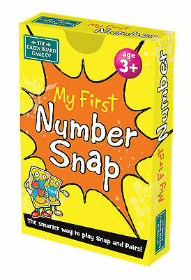 My First Number Snap + Pairs Card Game - BrainBox - Maths Learning Resource