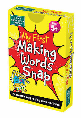 My First Making Words Snap + Pairs Card Game - BrainBox - English Resource