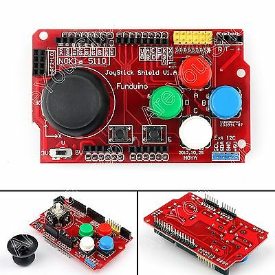 Gamepads JoyStick Keypad Shield  For Arduino nRF24L01 Nokia 5110 LCD I2C