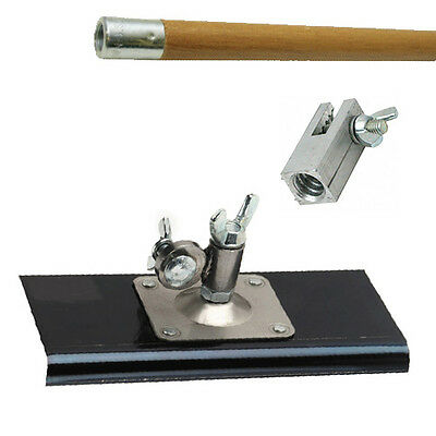 """Marshalltown Walking Edger - 9"""" X 4"""" All Angle - Includes Handle With Clevis"""