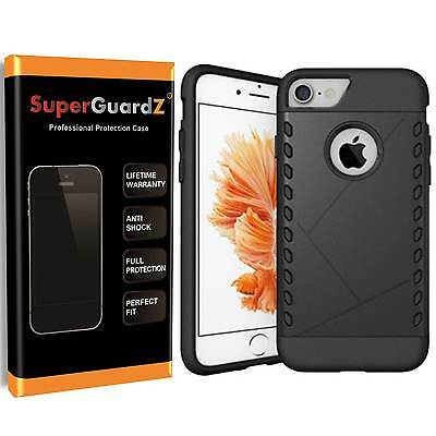 For iPhone 7 - SuperGuardZ® Heavy-Duty Slim Shockproof Cover Case Armor Guard