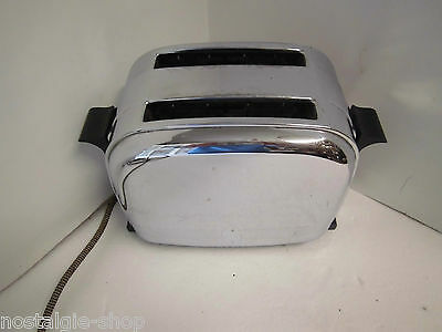 Original 50er 60er Maybaum Toaster Chrom Metall Vintage