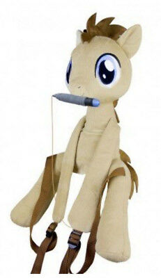 Brony MLP My Little Pony Friendship is Magic Doctor Hooves Dr Who Plush Backpack