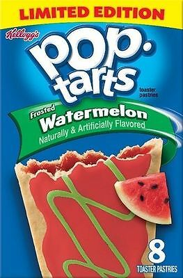 Kellogg's Pop Tarts Frosted Watermelon Toaster Pastries 14.1 oz Box