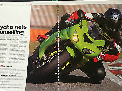 Kawasaki Zx-10R # 2006 Model First Ride # 4 Page 2006 Test / Article