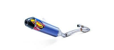 FMF Racing Exhaust Anodized Factory 4.1 RCT Full System Kawasaki KX250F 042262