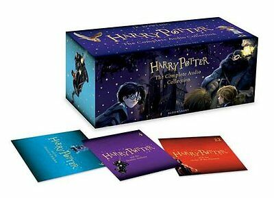 Harry Potter the Complete CD Audio Collection Audiobook Box Set 2016