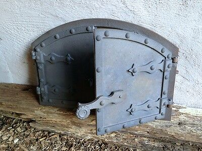 Bread baking oven build your own hochwertge Cast iron Door for a Stone oven