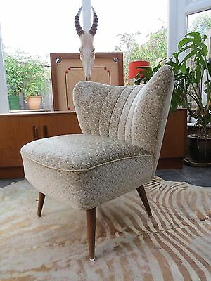A Vintage East German Bartholomew Cocktail Chair C1965 Good Condition Au16/12