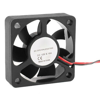 50mm 12V 2Pin 4000RPM Sleeve Bearing PC Case CPU Cooler Cooling Fan T1