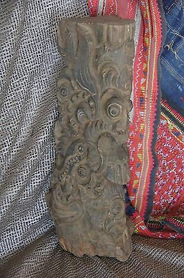 Old Javanese Spiritual Wood Carving …beautiful collection / feature / piece