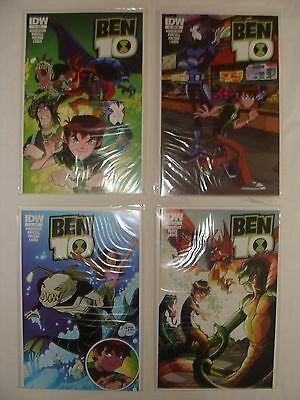 Lot Of 4 Ben 10 # 1 2 3 + Subscription Variant - Near Mint