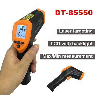 Digital Thermometer Non-contact Laser Infrared IR Temperature Gun Heat Sensor