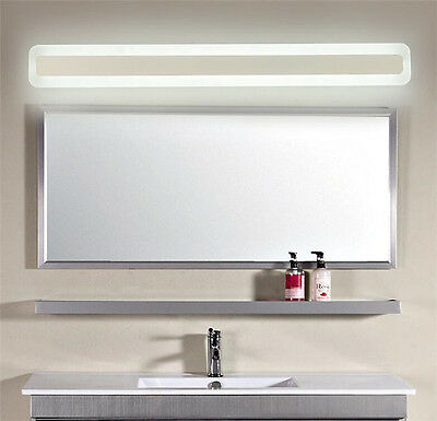 Bathroom Rectangle Wall Light Mirror Front LED Lighting Waterproof Antifogging