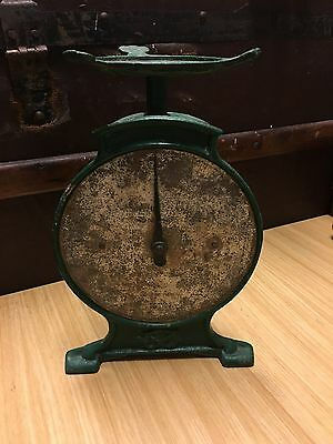 Antique Salters Cast Iron 28 lb Kitchen Scales