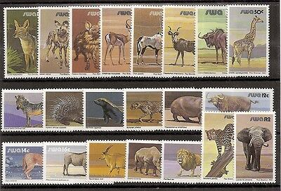 South West Africa 1980 Wildlife set of 25