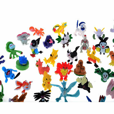 24PCS Wholesale Lots Cute Pokemon Mini Random Pearl Figures New Hot Kids Toy