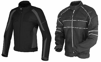 Mens Motorcycle Motorbike  Racing Waterproof Cordura Jacket
