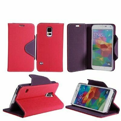 PU Leather Book Card Slot Stand Wallet Pouch Case Cover For Samsung Galaxy S5
