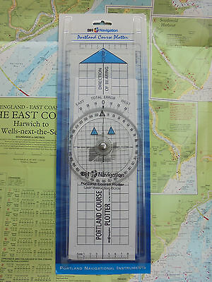 The Portland Course Plotter (Blundell Harling 0655.32) - Marine Chart Navigation