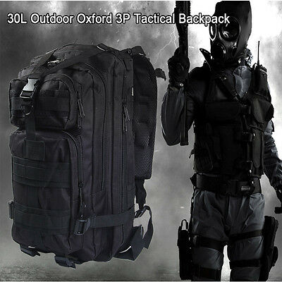 3P Military Tactical 30L Oxford Backpack for Camping Traveling Hiking Bag